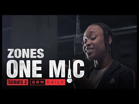 Zones – One Mic Freestyle | GRM Daily
