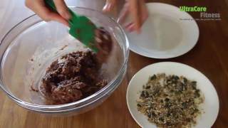 Cranberry nutty cocoa energy balls - UltraCore FREE Recipes