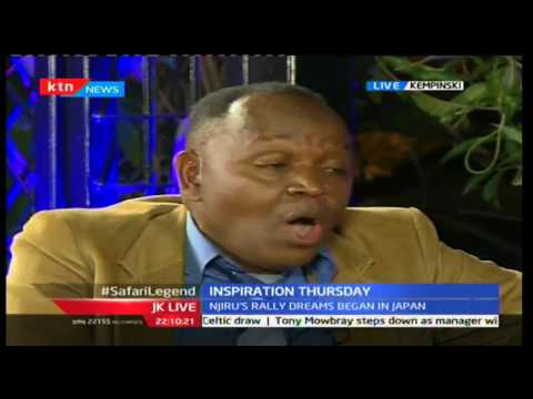 JKL: Inspirational Thursday; Patrick Njiru - Safari Rally Champion, 29/09/2016 Part 1