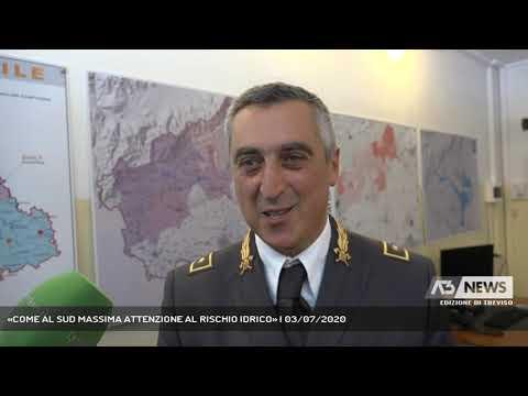 «COME AL SUD MASSIMA ATTENZIONE AL RISCHIO IDRICO» | 03/07/2020