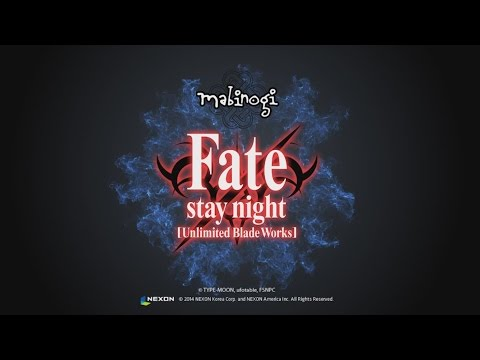 Mabinogi: Fate/stay night [Unlimited Blade Works] — 30 sec Trailer