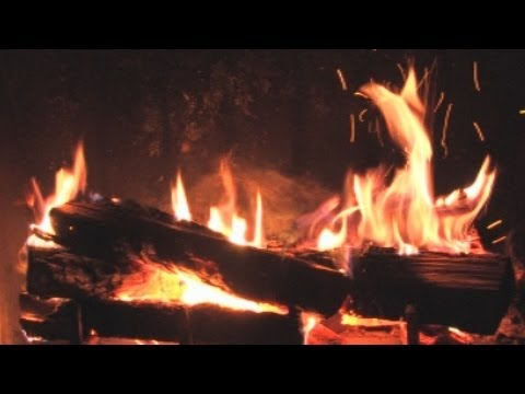 long - This is a 3 hour crackling REAL fire in a REAL fireplace. 1080p and 5.1 Dolby sound. No repeats or loops!! So real you'll want to keep a fire extinguisher ne...