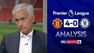 Video Jose Mourinho's insightful analysis of Manchester United's 4-0 win against Chelsea | Super Sunday MP3, 3GP, MP4, WEBM, AVI, FLV Agustus 2019