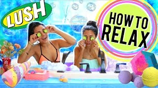 DIY Life Hacks for Relaxing You NEED to Try! + DIY Bath bomb! Niki and Gabi by Niki and Gabi