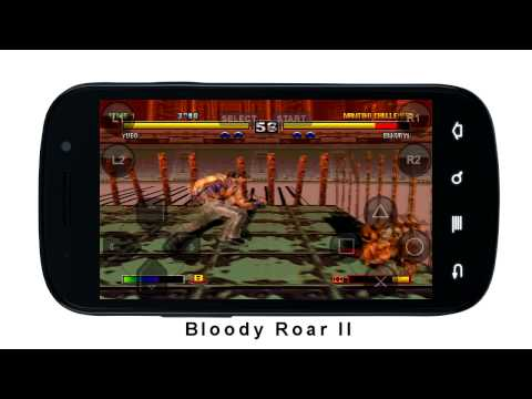 Video of FPse for android