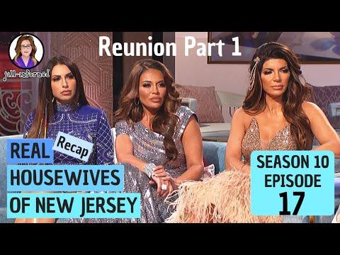 Real Housewives of New Jersey (Recap) REUNION PART 1 Season 10 Episode 17 BRAVO TV  (2020)
