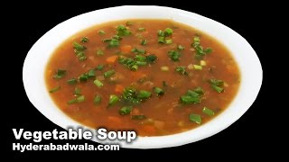 Healthy Vegetable Soup from Maimoona Yasmeen's Recipes YOU CAN ALSO REACH US ON : Youtube Subscribe ...