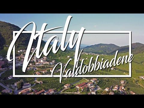 Italy 2018 - Valdobbiadene, Italy Drone Footage