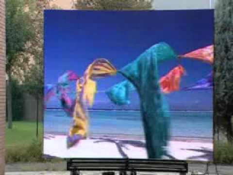 Экран с пикселем 10мм