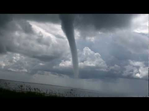 Waterspout / Tornado – Carolina Beach, NC 8/18/2011