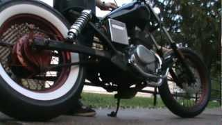 9. 1986 Honda CMX250 Rebel Rat/Bobber  Resurrected