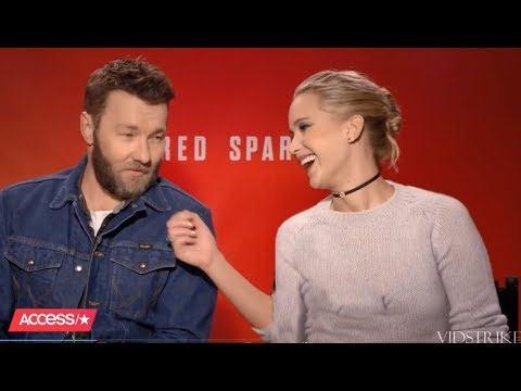 Jennifer Lawrence Can't Stop Flirting With Joel Edgerton (Red Sparrow Co-Star) (видео)
