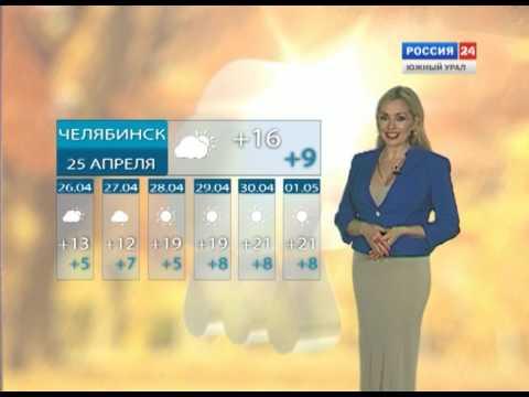 Прогноз погоды на 25.04.2017
