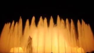 If you visit the beautiful city of Barcelona in Spain, for sure you will fall in love with one of the most romantique places in Europe, the magical and musical fountain of Montjuic/Dacă vizitați frumosul oraș Barcelona din Spania, cu siguranță vă veți îndrăgosti de unul din cele mai romantice locuri din Europa, magica fântână muzicală Montjuic