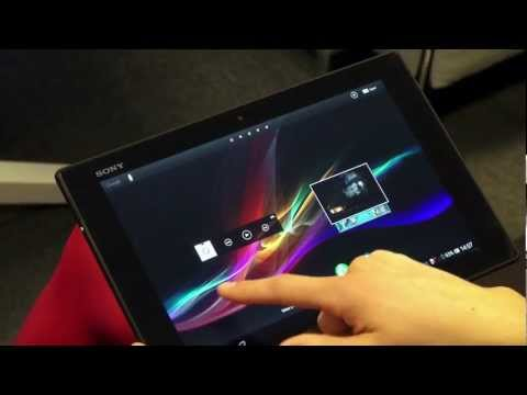 Sony's Xperia™ Tablet Z globally available [video]