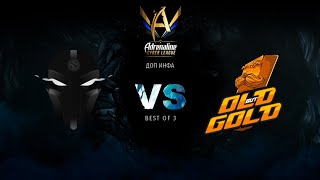 The Final Tribe vs Old But Gold, Adrenaline Cyber League, bo3, game 1 [4ce & Lex]