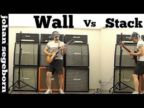 The difference between a Marshall STACK and a Marshall WALL