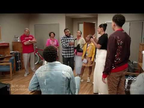 Bye Junior. See you in 4 Years! | Black-ish Season 5 Episode 1