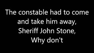 Me First and the Gimme Gimmes videoklipp Sloop John B (Lyrics On Screen)