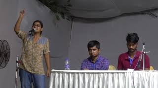 Download Video JNUSU Elections 2018  UGBM Speech with Q/A :  Sarika Chaudhary  Left Unity  Vice President Candidate MP3 3GP MP4