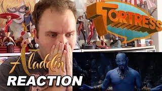 Aladdin Special Look Trailer REACTION