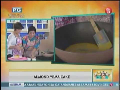 Good Morning Club- Luto na ba T'yang (June 1)- Almond Yema Cake Part 2