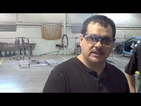 0 Collision Repair Training   How To Apply and Block Sand Body Filler or Bondo
