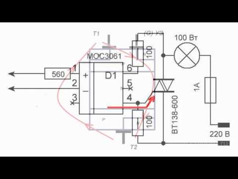 What Triac Is and How It Works. Circuitry Basics.