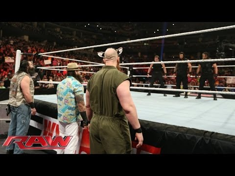 Feb. 17, 2014, The Wyatt Family and The Shield come face-to-face: Raw