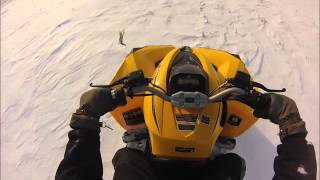 10. 2013 Can am Renegade 500 Snow Riding!