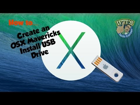 how to create a bootable usb os x