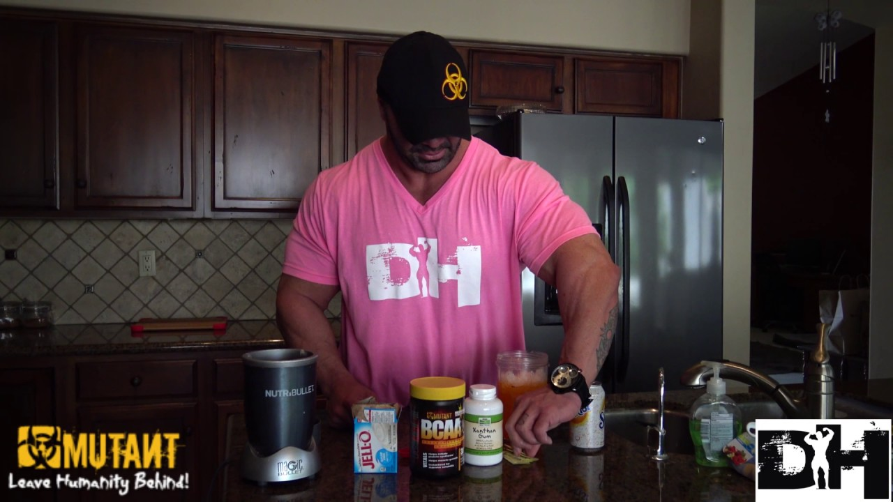 Bodybuilding Treat- Cooking with Dusty Hanshaw Mutant Sunkist Slush