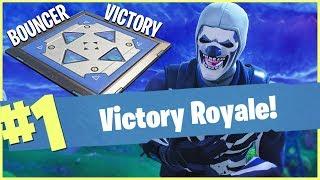 BOUNCER VICTORY ROYALE!! - FORTNITE BATTLE ROYALE!