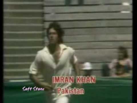 pakistani fast bowler imran khan song