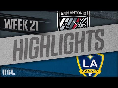 Сан-Антонио - LA Galaxy 2 2:1. Видеообзор матча 05.08.2018. Видео голов и опасных моментов игры