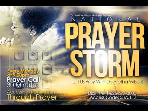 'Prayer Storm' with Dr. Aretha Wilson – Lord I Need Direction!