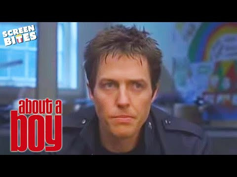 About A Boy: Will (Hugh Grant) Attends SPAT - Single Parents Alone Together