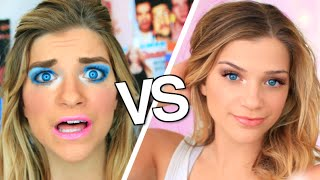 High School You VS Child You Makeup Routine! by Monica Church