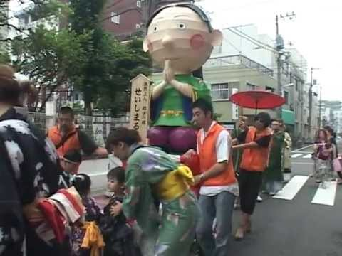 2012年 仰願寺幼稚園 勢至丸御練り行列