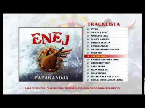 Enej - Paparanoja lyrics
