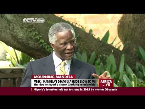 former - Few can claim to have had a closer working relationship with Nelson Mandela, than his former deputy and successor, Thabo Mbeki. CCTV's Fahmida Miller had a s...