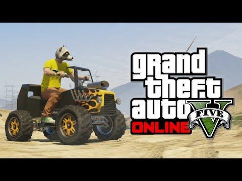 GTA 5 Online Hipster Update: Hot Rod Blazer! (Grand Theft Auto V)