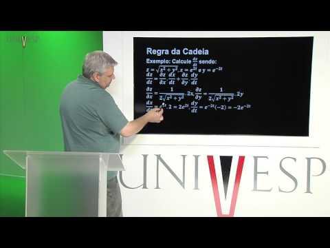 Cálculo e Geometria Analítica - aula 10 - Regra da Cadeia - Parte 1