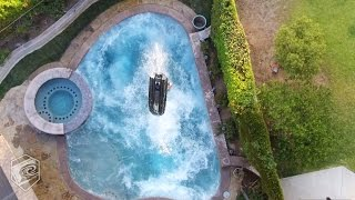 Liquid Militia | Jet Ski Backflips In A Small Pool With Mark Gomez