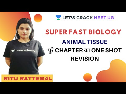 Animal Tissue | Biology | NEET 2020 | Ritu Rattewal