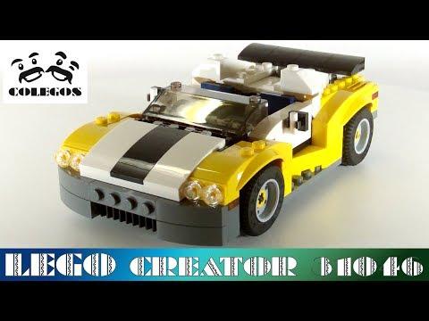Lego Creator 31046 Fast Car - Lego Speed Build