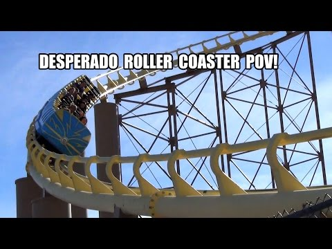 Buffalo - Desperado was once the world's tallest roller coaster! Watch this POV and see how it stacks up today! Filmed with Pivothead glasses camera.