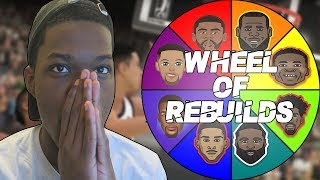 Video WHEEL OF REBUILDING CHALLENGE  IN NBA 2K19 | 4 ALL STARS! MP3, 3GP, MP4, WEBM, AVI, FLV November 2018
