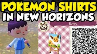 HOW TO GET POKEMON CLOTHES IN ANIMAL CROSSING NEW HORIZONS! by Verlisify