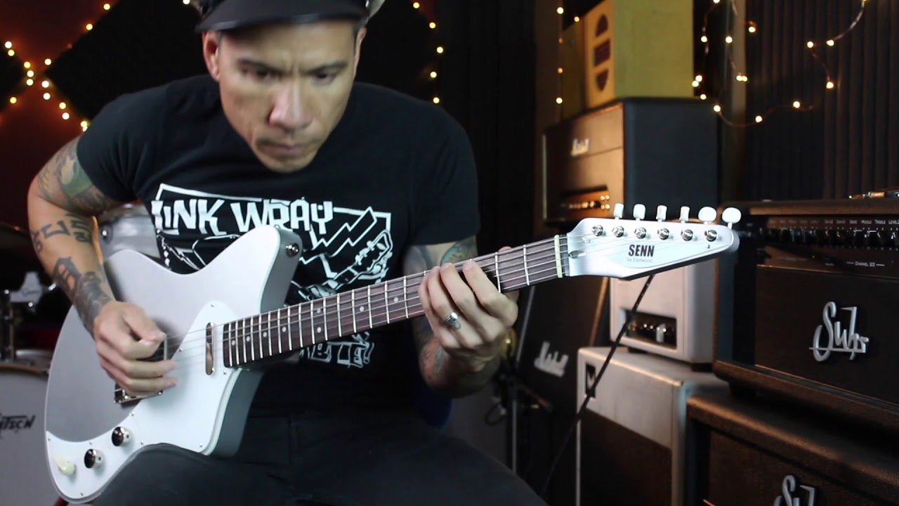 Senn by Eastwood Model T guitar – demo by RJ Ronquillo